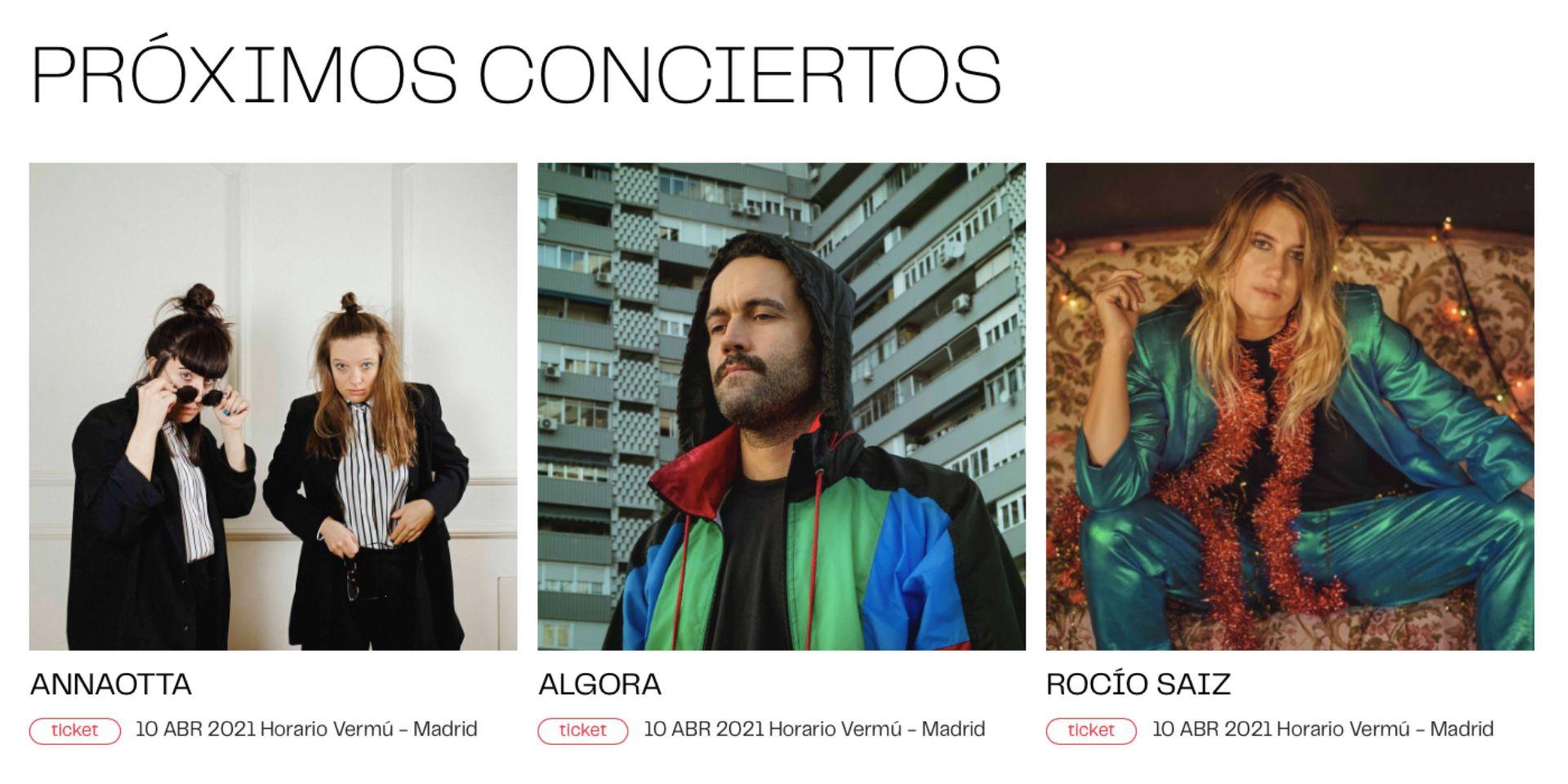 EllESmusic se presentará en Madrid el 10 de abril con Algora y AnnaOtta