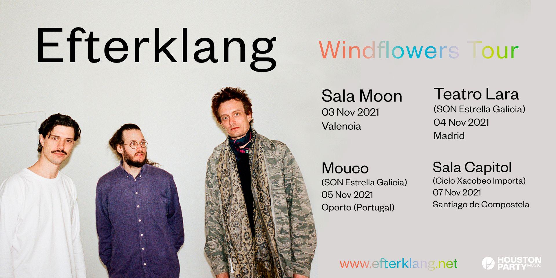 Efterklang completan con un concierto en Oporto su tour de noviembre