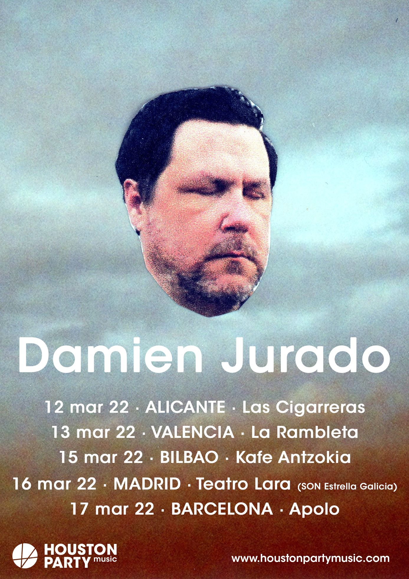 Damien Jurado pospone su gira hasta marzo de 2022
