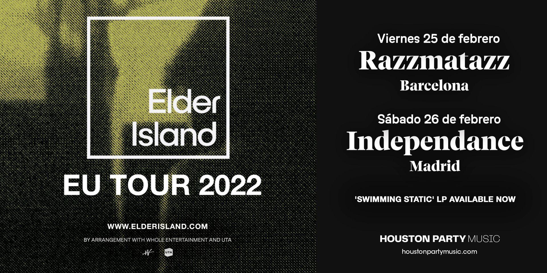 Elder Island, en febrero en Barcelona y Madrid con su nuevo disco