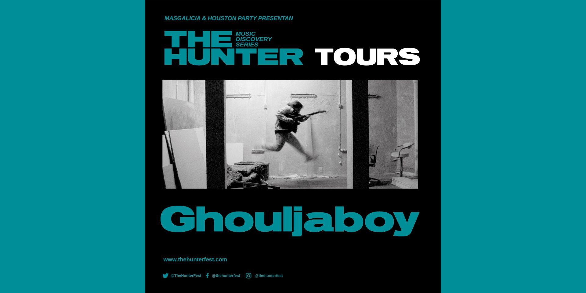 Ghouljaboy, el 25 de noviembre en Barcelona con The Hunter