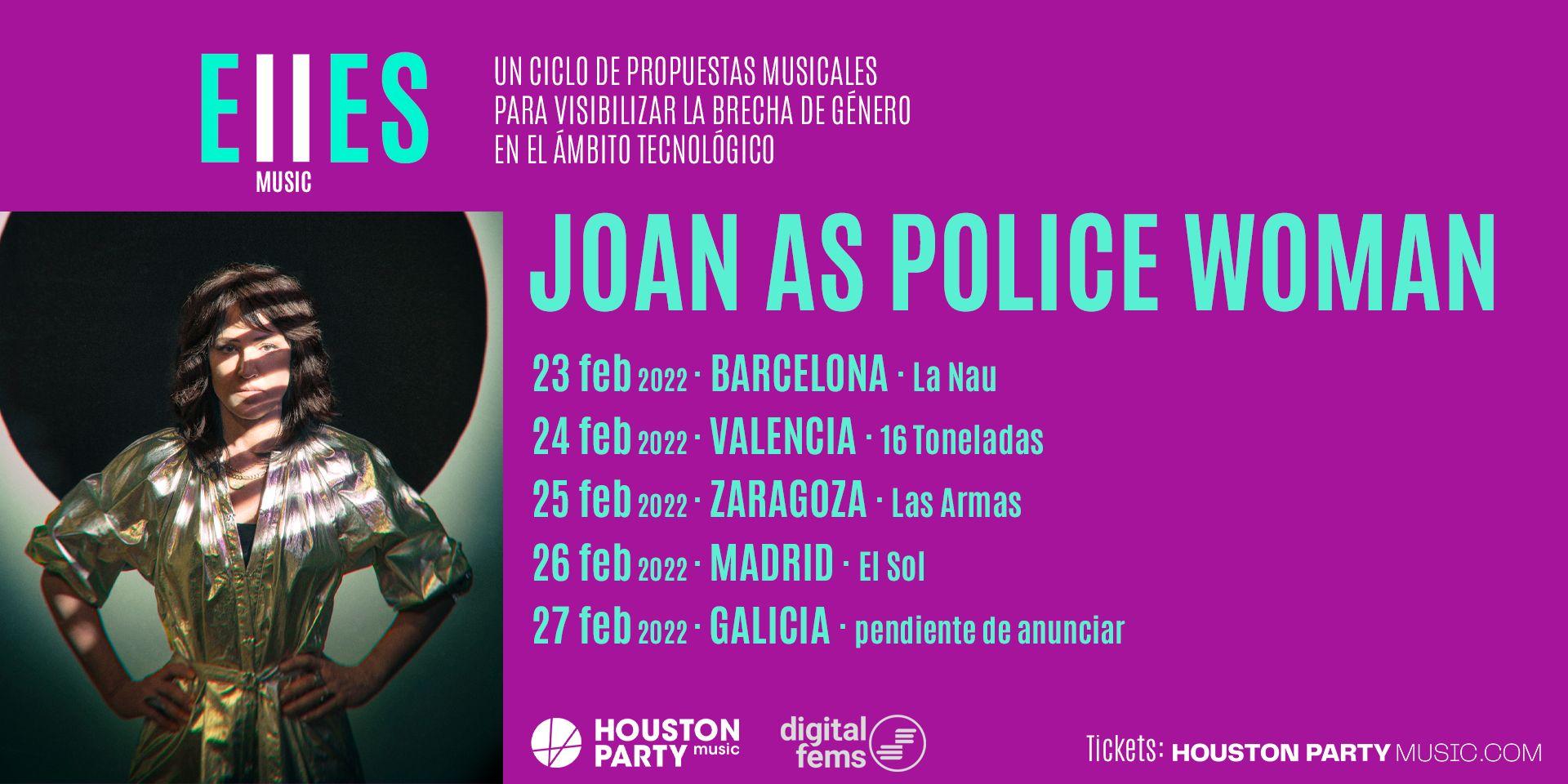 """Joan As Police Woman publica """"Geometry Of You"""", single del disco que presentará en su gira de febrero de 2022"""