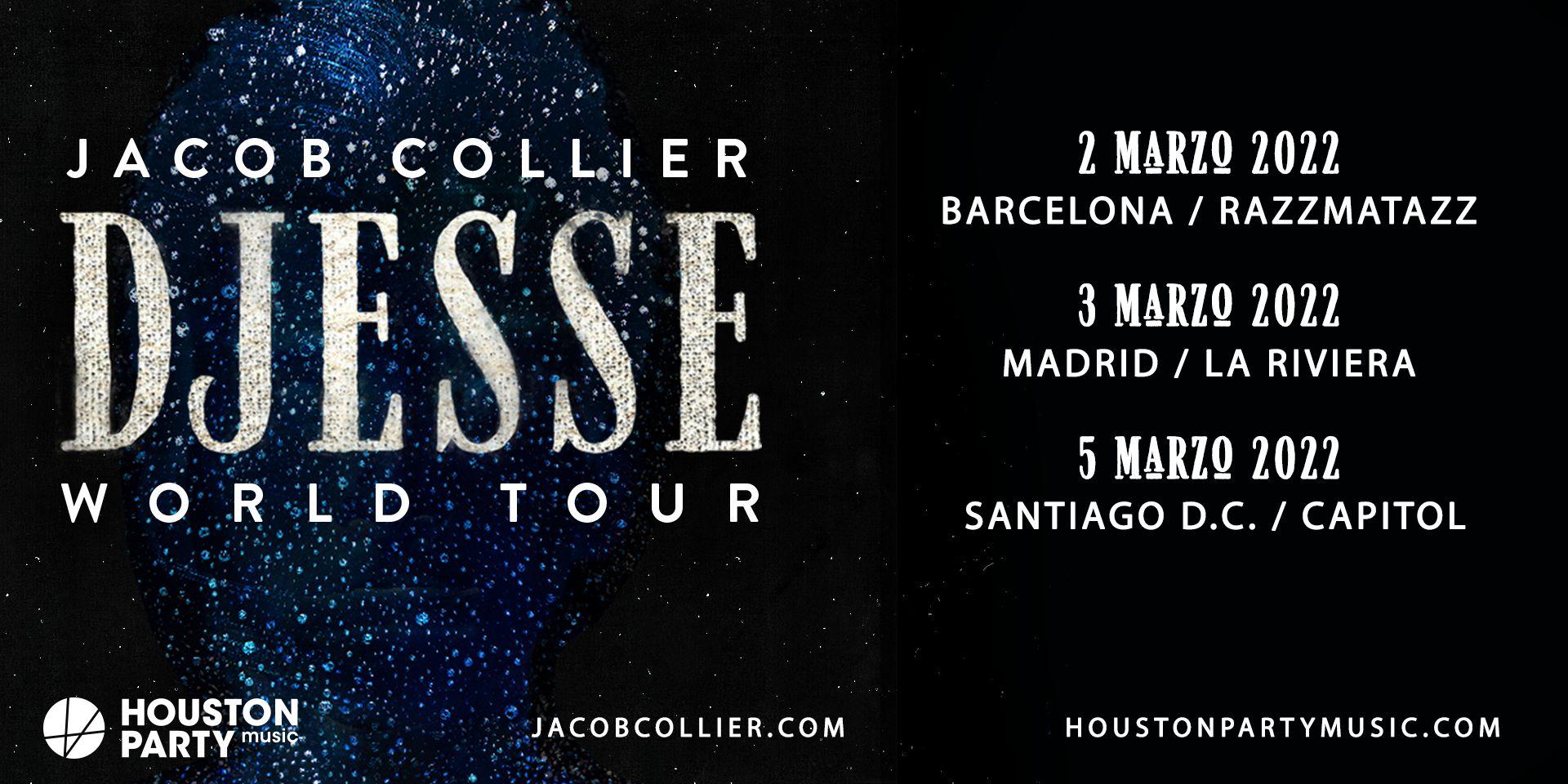 Jacob Collier, en Barcelona, Madrid y Santiago de Compostela en marzo de 2022