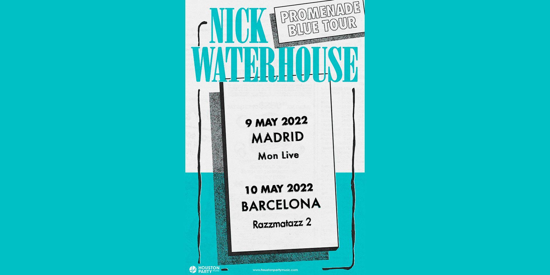 Nick Waterhouse pospone su gira a mayo de 2022
