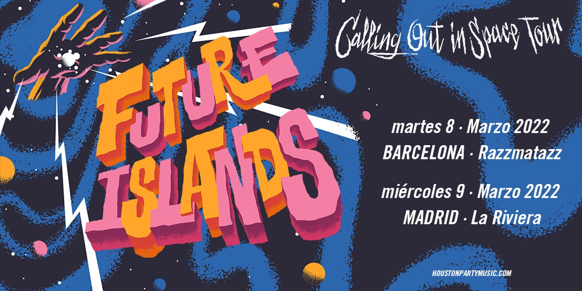 Future Islands, en marzo de 2022 en Barcelona y Madrid