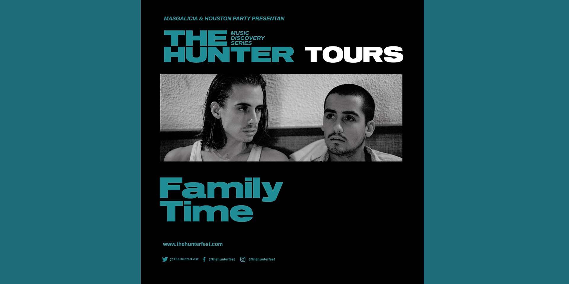 "Family Time, el 14 de octubre en Madrid con The Hunter ""Music Discovery Series"""