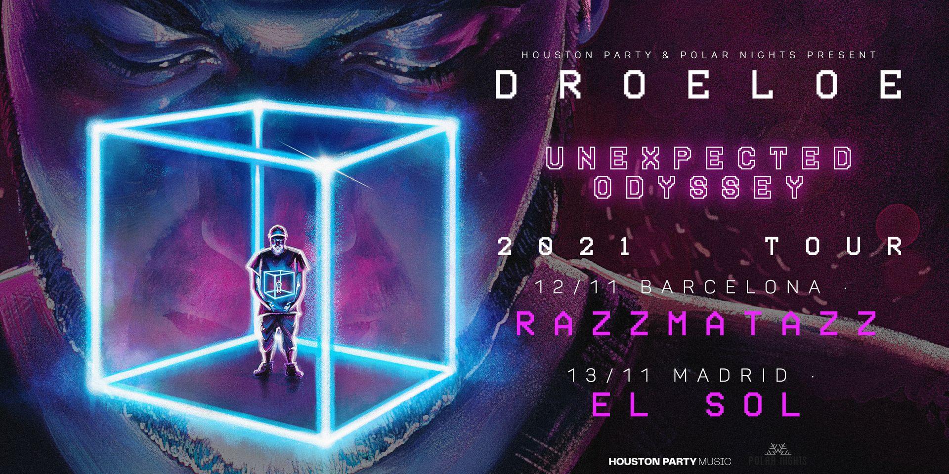 DROELOE, en noviembre en Barcelona y Madrid