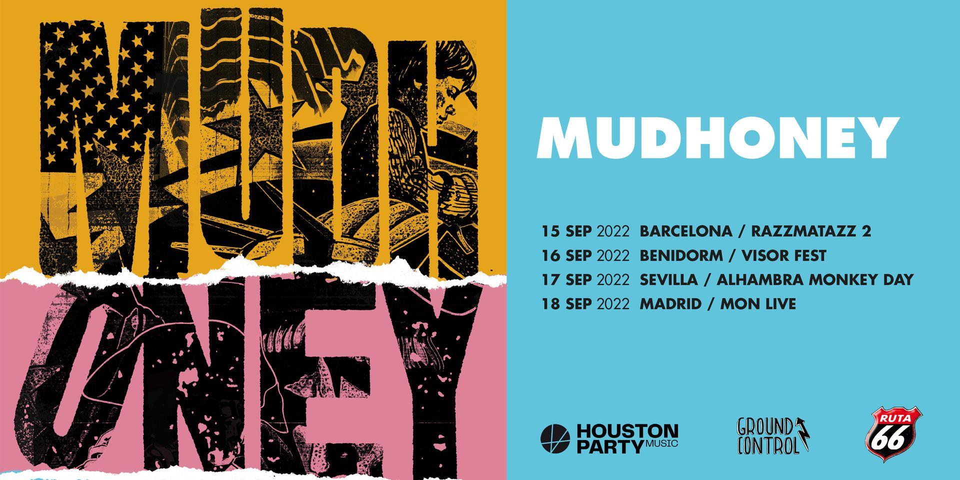 """Mudhoney anuncian gira en septiembre de 2022 y reeditan """"Every Good Boy Deserves Fudge"""""""