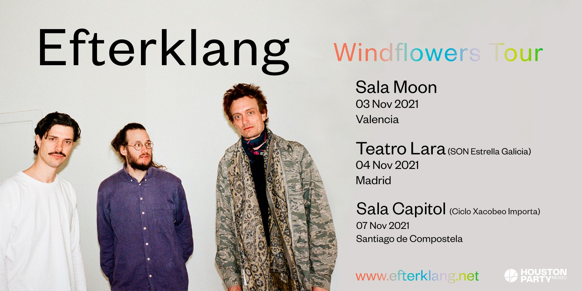 Efterklang suman Santiago de Compostela a su gira de noviembre