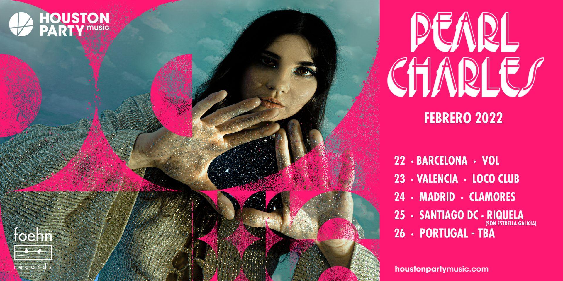Pearl Charles actuará en Santiago de Compostela en su gira de febrero