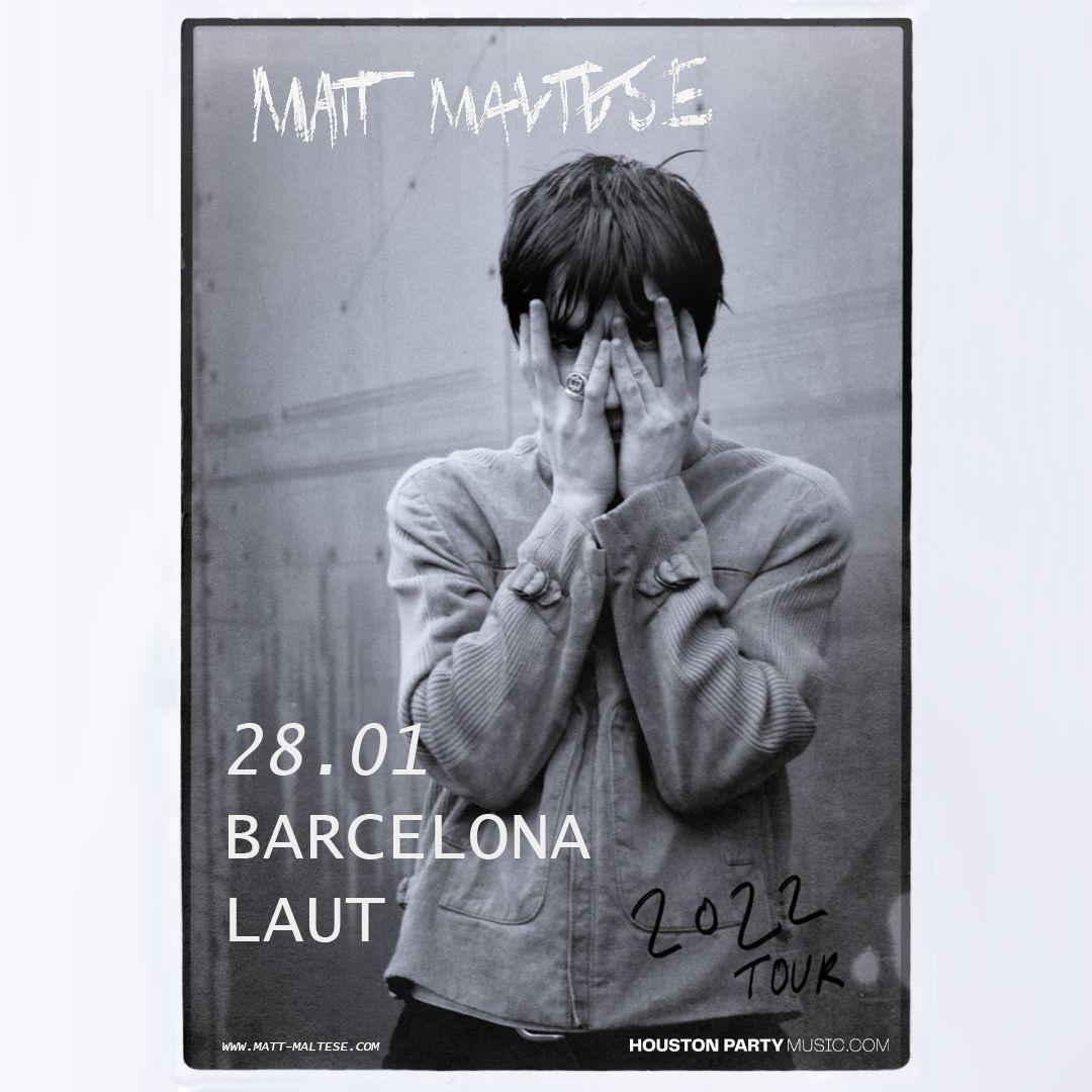 Matt Maltese, en directo en Barcelona el 28 de enero