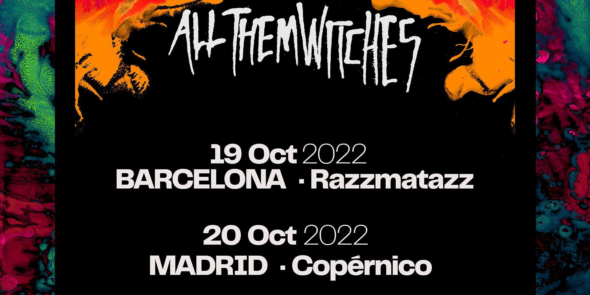 All Them Witches posponen su gira a octubre de 2022