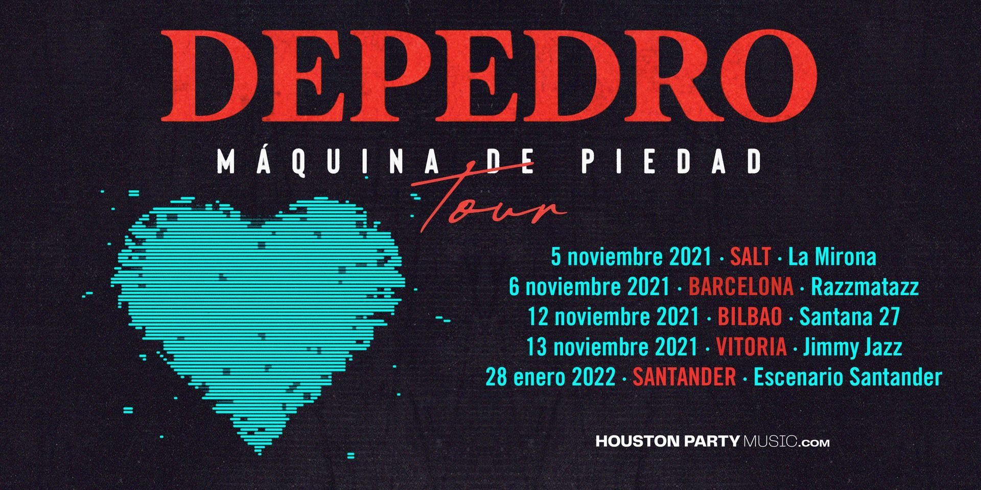 """Depedro anuncia las primeras fechas de presentación de su próximo disco, """"Máquina de piedad"""""""